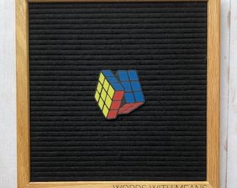 Magic Cube Letterboard Icon, Puzzle Cube Letterboard Icon, 80s Letterboard decor, letterboard accessories, 80sParty Decor, 90s letterboard