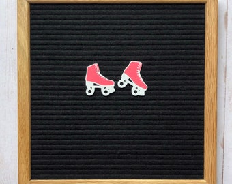 Roller skates Letterboard Icons, 80s party decor, 90s party decor, roller skate party decor, 80s letterboard icons, 80s feltboard decor