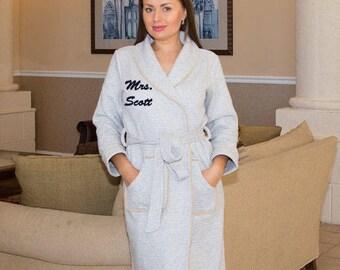 e06ff9b9c6 Personalized bath robe