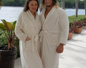 Personalized bath robe 312bd9309