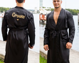 547d904844 Custom made Men s Satin Robe