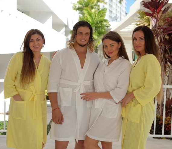 1fdf897063 Personalized Matching Satin Robes Perfect Wedding Gift for