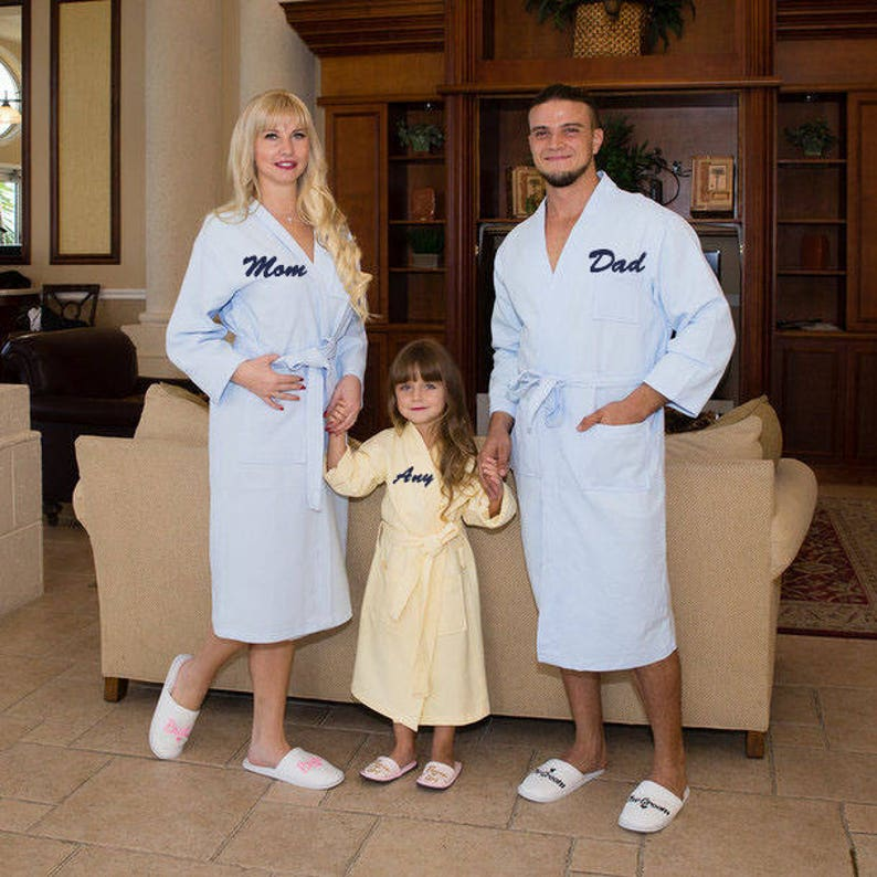 92da1939cf Personalized Bath Robe Valentine s Day Groom and Bride Robes