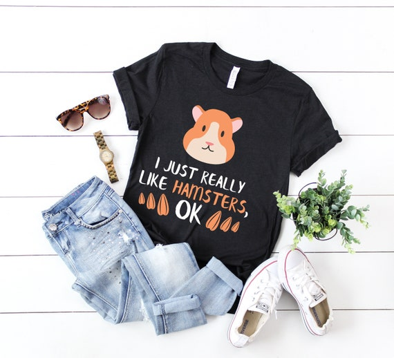 Tee Shirt Clothing Ask About My Hamster Shirt