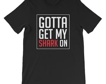 Shark t-shirt, shark gift, shark art, funny animal t-shirt, shark shirt, shark t shirt, shark tee, shark birthday, shark top, shark tshirt