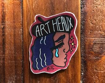 Art Heaux Sticker