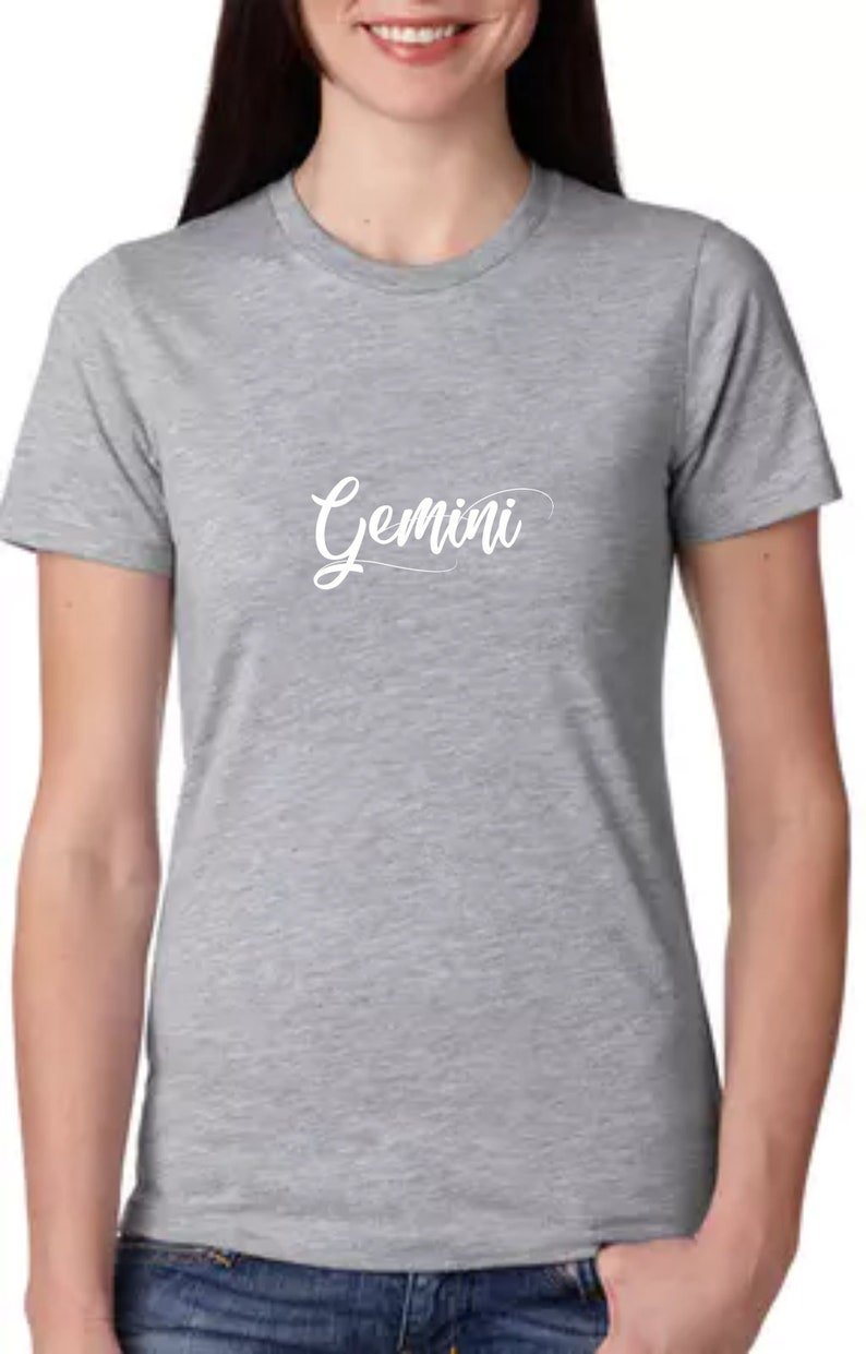 zodiac shirt zodiac tee zodiac shirts zodiac sign shirts zodiac t shirt  gemini gift gemini t shirt zodiac gift for her gift girlfriend gift