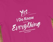 Coach T-Shirt I Know Everything About Motivating People Humorous Graphic Novelty Short-Sleeve  Jersey Tee