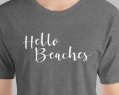 Funny T-Shirt Hello Beach...