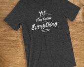 Plumber T Shirt I Know Ev...