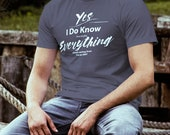 EMT T-Shirt I Know Everyt...