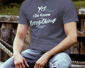 EMT T-Shirt I Know Everyt...
