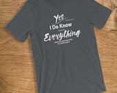 Philosopher T Shirt I Kno...