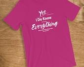 Coach T-Shirt I Know Ever...