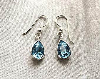 Sterling Silver Swarovski Crystal Earrings