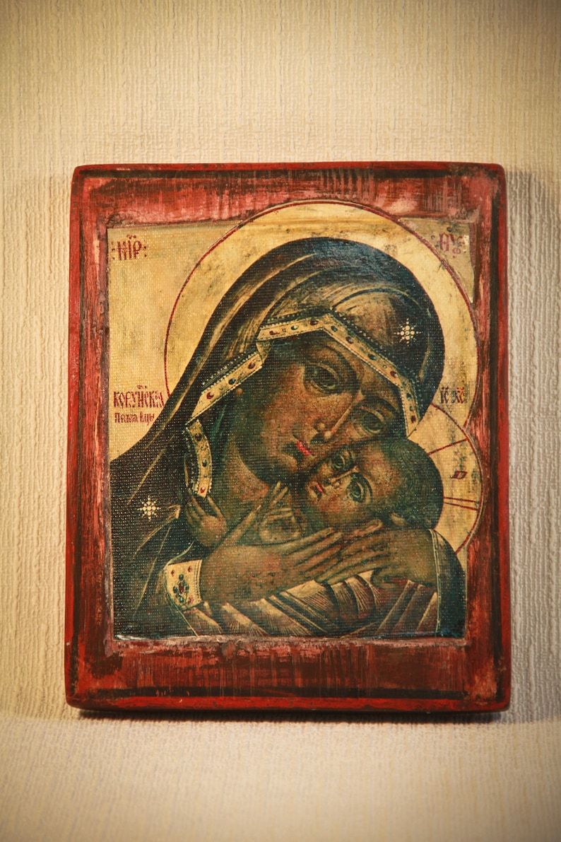 The Icon Of The Mother Of God Of Korsun