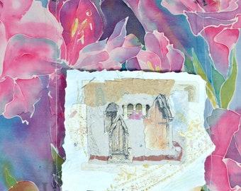 Honeymoon Days - mixed media