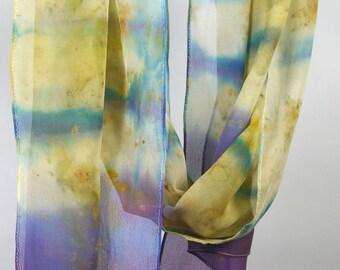 Purple/ Blue Chiffon