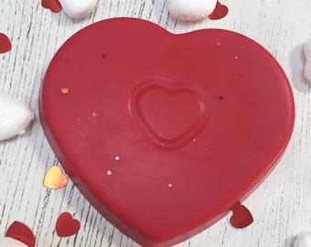Cherry Heart Wax Melt