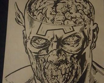 Zombie Captain America Version 2