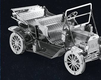 2de687b7b7 Metal Earth 3D Laser Cut Model 1908 Ford Model T