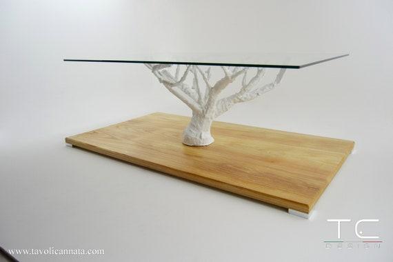 Inside Design Salontafel.The Life Glass Coffe Table Modern Design Unique Living Room Etsy
