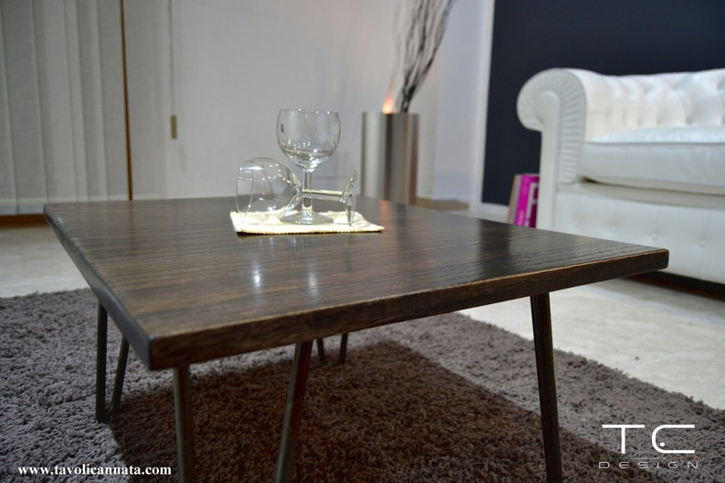 wooden coffee table - coffee tables - modern table - low wooden living room  table