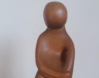 Repose - Wood Sculpture