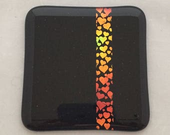Heart coaster perfect for your valentine