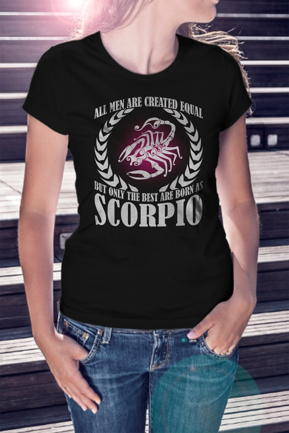 Scorpio Women T shirt Zodiac Tee Scorpio Shirt October T shirt Scorpio Gift Shirt Zodiac Gift Scorpio Tee