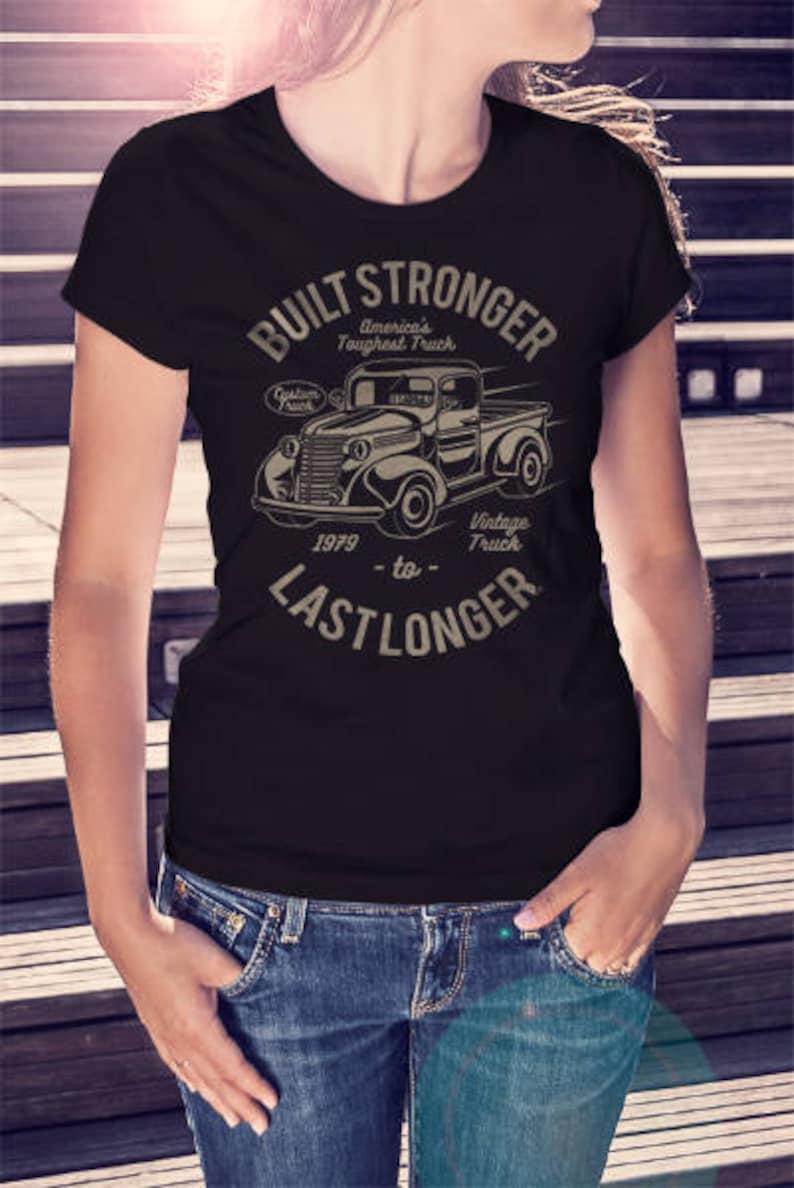 1d3aa874 Vintage Truck T-shirt Build Stronger Last Longer Tee Vintage | Etsy