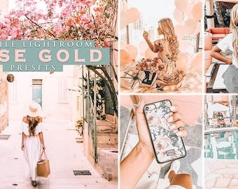 Lightroom Desktop Presets Blogger presets Instagram Rose