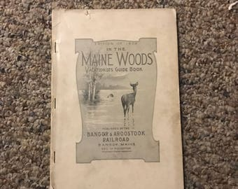 In the Maine woods 1909 missing cover