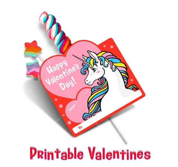 Unicorn Valentine Unicorn Valentines Unicorn Valentines Day Cards