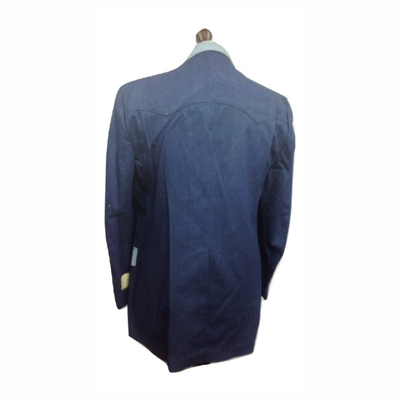 Western Jacket - H Bar C Denium Style Western Jac… - image 3