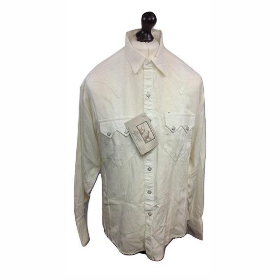 Western Shirt - Vintage Western Shirt - Cowboy Shi