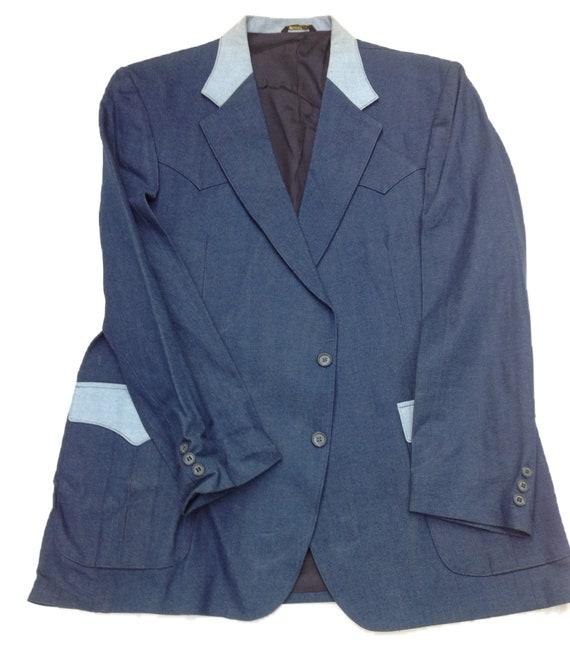 Western Jacket - H Bar C Denium Style Western Jac… - image 5