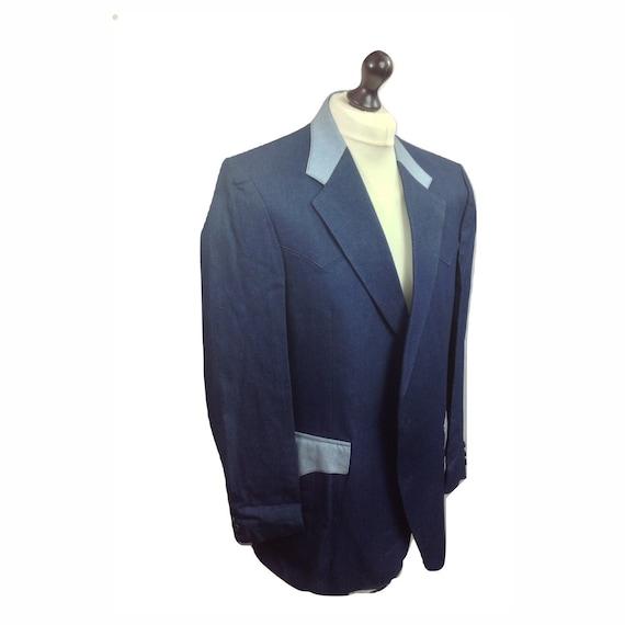 Western Jacket - H Bar C Denium Style Western Jack