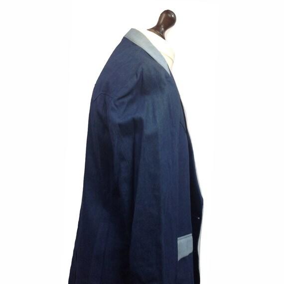 Western Jacket - H Bar C Denium Style Western Jac… - image 2