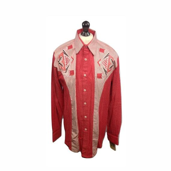 Western Shirt - Vintage Western Shirt - 1849 Embro