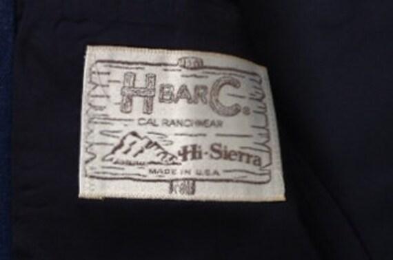Western Jacket - H Bar C Denium Style Western Jac… - image 8