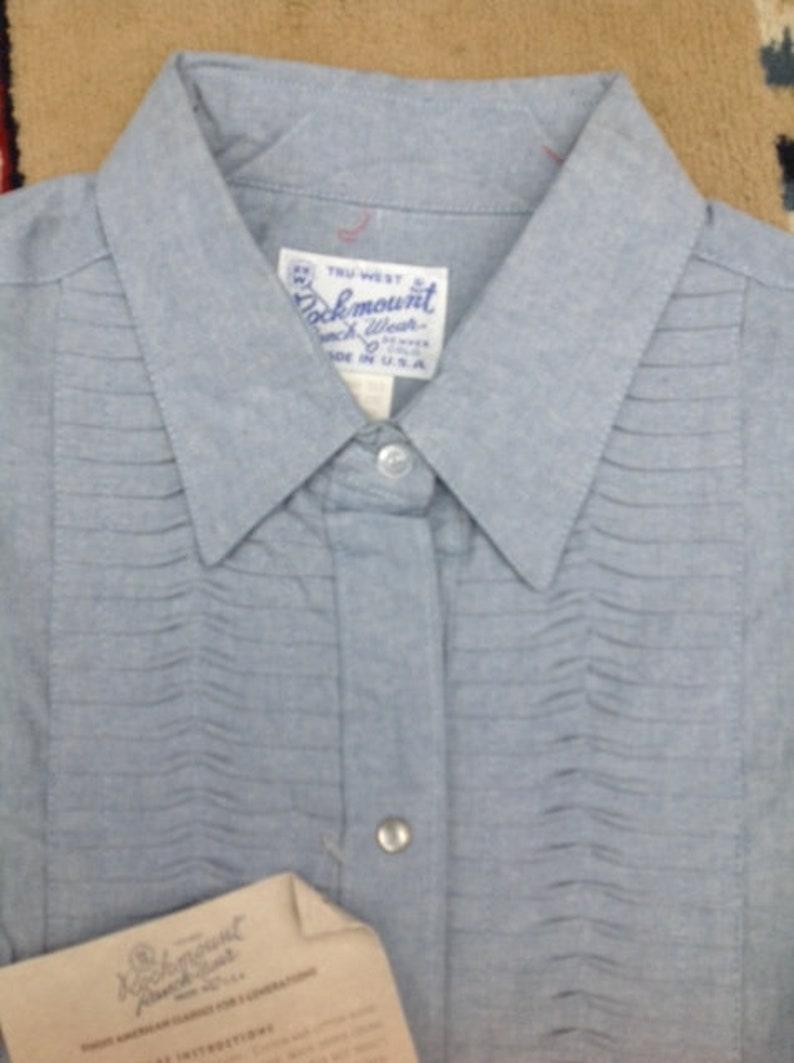 Cowboy Shirt Western Shirt Vintage Rockmount Ranch Wear American Vintage  shirt Cowboy Western  Shirt