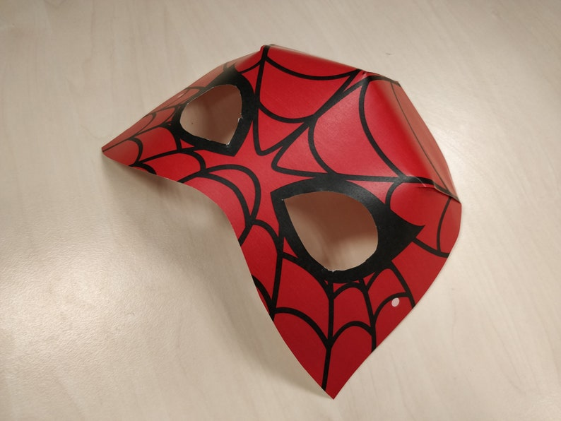 image regarding Printable Spiderman named Spider-Gentleman Mask Printable SpiderMan dress animal mask halloween