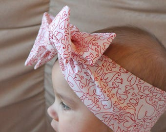 Whimsy Love Headwrap (from our XOXO Collection)