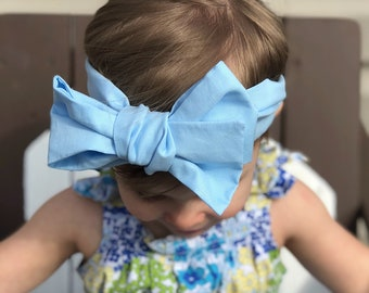 Morpho Headwrap (from the Butterfly Garden Collection)