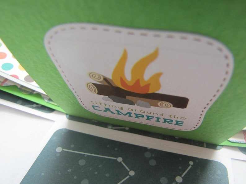 Happy Camper Explosion Box