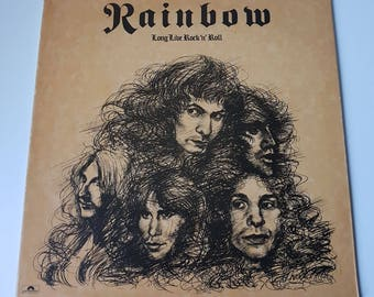 Rainbow - Long Iive Rock 'n' Roll - 1978 Vinyl Record