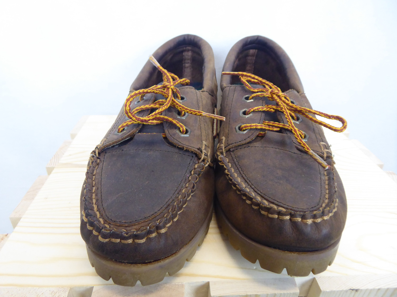 cc6bae2a44206 Moc Toe Shoes, Vintage 80s/90s, Women's Size 10, Chunky Soles, Lace ...