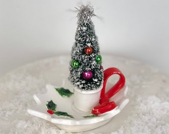 vintage lefton christmas topiary christmas decor vintage christmas - Christmas Topiary