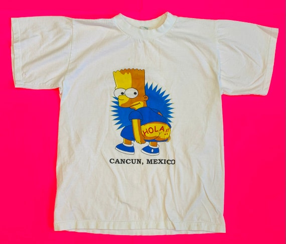 Early 2000's Bart Simpson Cancun Mexico Bootleg si